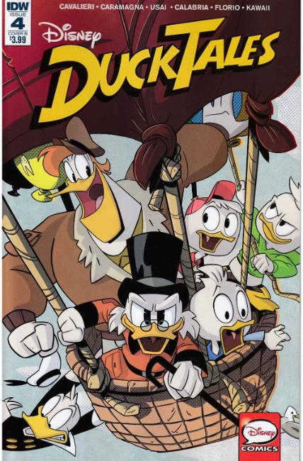 Ducktales #4 Cover B [IDW Comic]