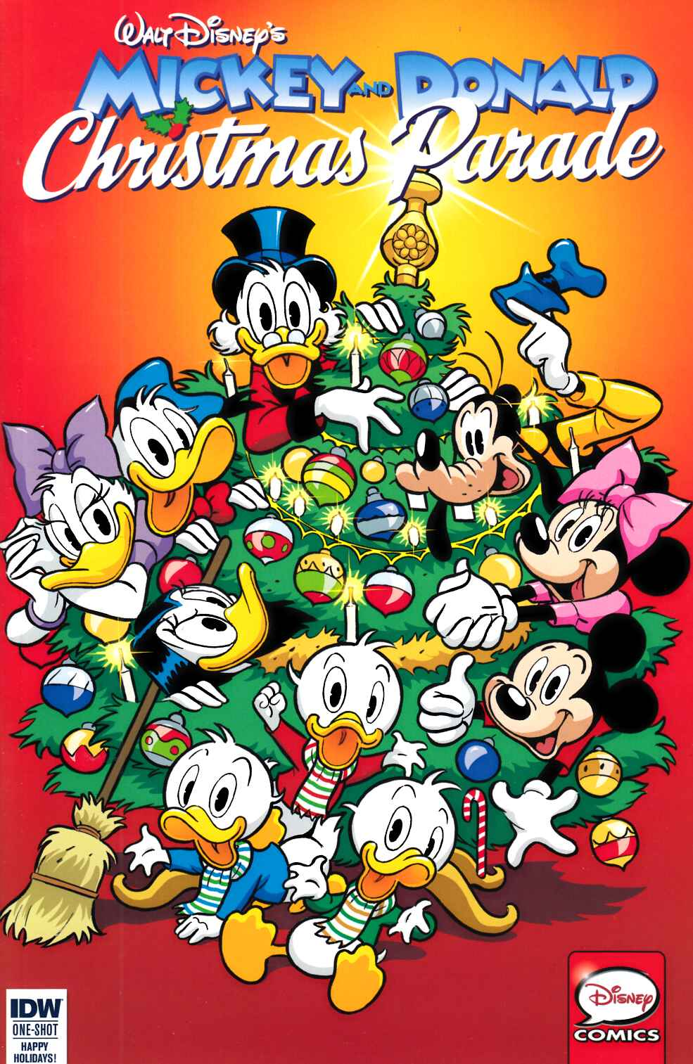 Mickey & Donald Christmas Parade #3 Cover A [IDW Comic] THUMBNAIL