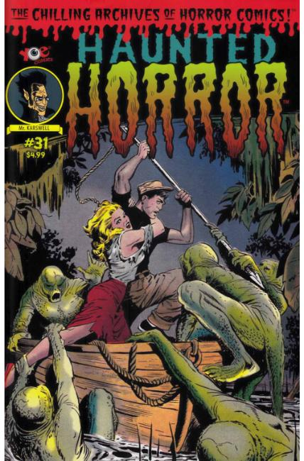 Haunted Horror #31 [IDW Comic] LARGE