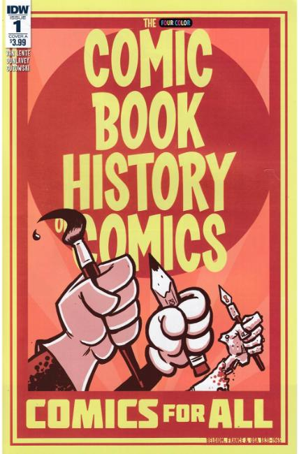 Comic Book History of Comics Comics For All #1 Cover A [IDW Comic] LARGE