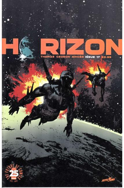 Horizon #17 [Image Comic]