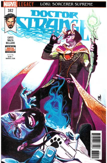 Doctor Strange #382 [Marvel Comic] THUMBNAIL