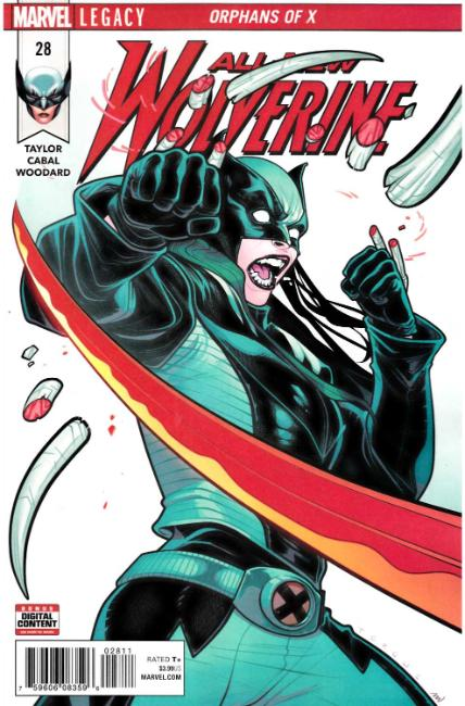 All New Wolverine #28 Near Mint (9.4) [Marvel Comic] LARGE