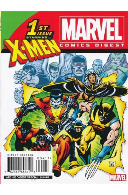Marvel Comics Digest #4 X-Men [Archie Comic]