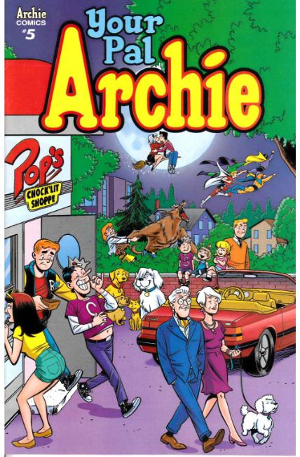 All New Classic Archie Your Pal Archie #5 Cover B [Archie Comic]_THUMBNAIL