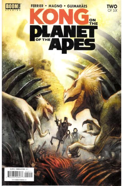 Kong on Planet of the Apes #2 [Boom Comic]