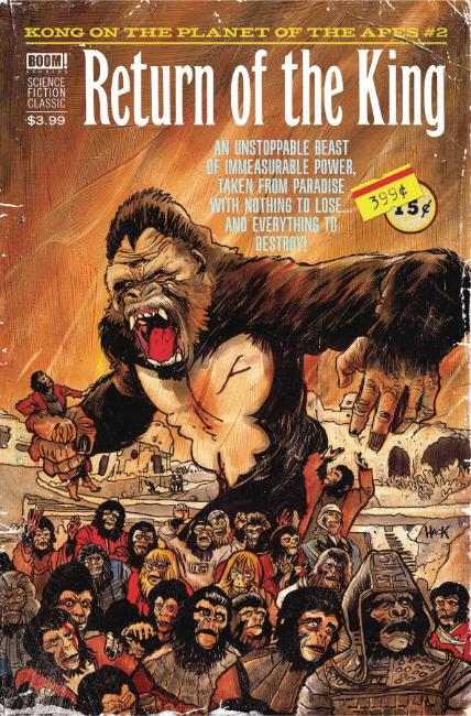 Kong on Planet of the Apes #2 Subscription Connecting Cover [Boom Comic]