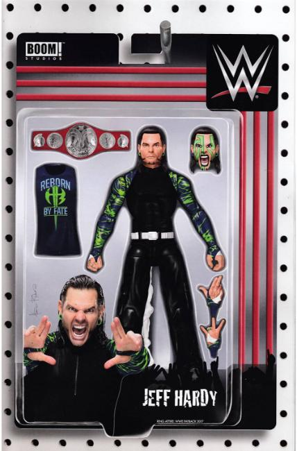 WWE #12 Unlockable Action Figure Cover [Boom Comic] THUMBNAIL