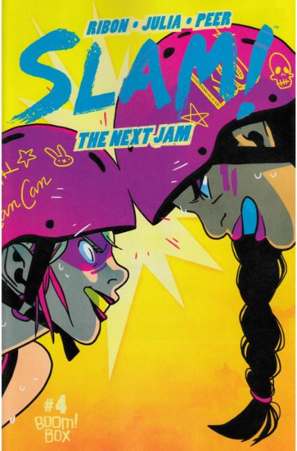 Slam Next Jam #4 Subscription Cover [Boom Comic]_THUMBNAIL