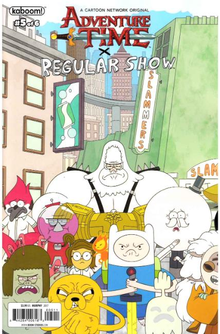 Adventure Time Regular Show #5 Cover A [Boom Comic] LARGE
