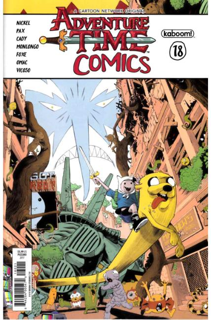 Adventure Time Comics #18 Subscription Cover [Boom Comic] THUMBNAIL