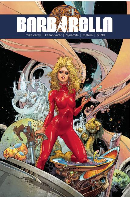 Barbarella #1 Cover A [Dynamite Comic] THUMBNAIL