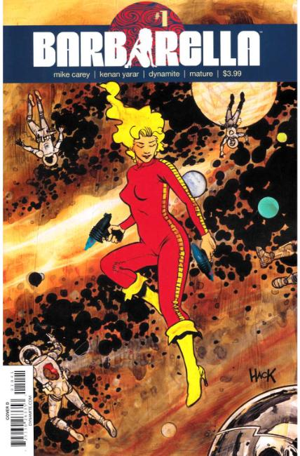 Barbarella #1 Cover D [Dynamite Comic] THUMBNAIL