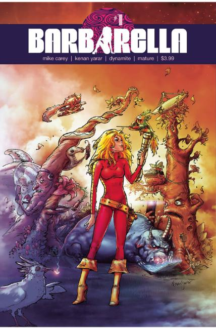Barbarella #1 Cover F [Dynamite Comic] THUMBNAIL