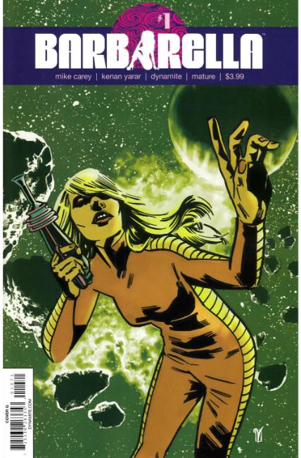 Barbarella #1 Cover G [Dynamite Comic] THUMBNAIL