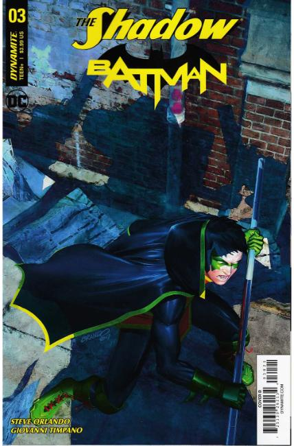 Shadow Batman #3 Cover B [Dynamite Comic] THUMBNAIL