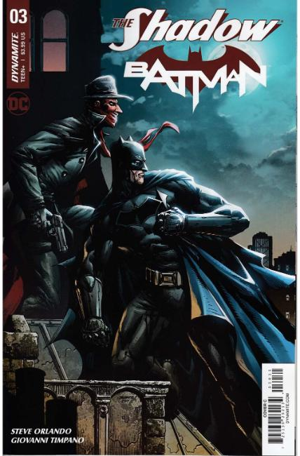 Shadow Batman #3 Cover C [Dynamite Comic] THUMBNAIL