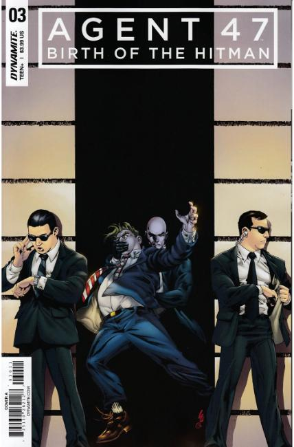 Agent 47 Birth of Hitman #3 Cover A [Dynamite Comic] THUMBNAIL
