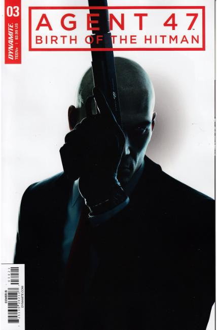 Agent 47 Birth of Hitman #3 Cover B [Dynamite Comic] THUMBNAIL