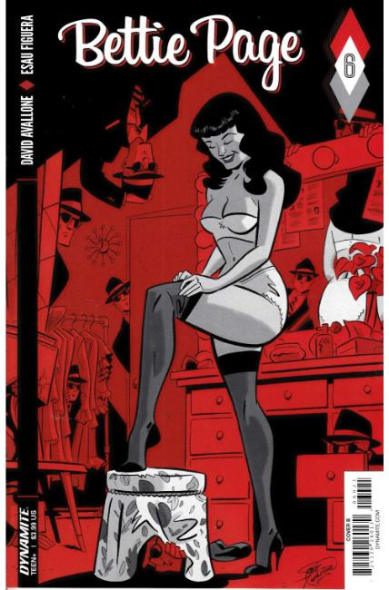 Bettie Page #6 Cover B [Dynamite Comic] THUMBNAIL