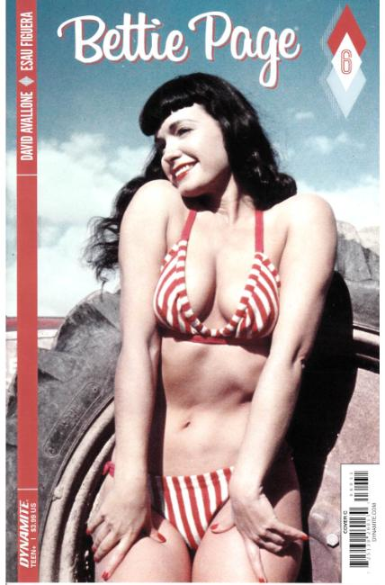 Bettie Page #6 Cover C [Dynamite Comic] THUMBNAIL