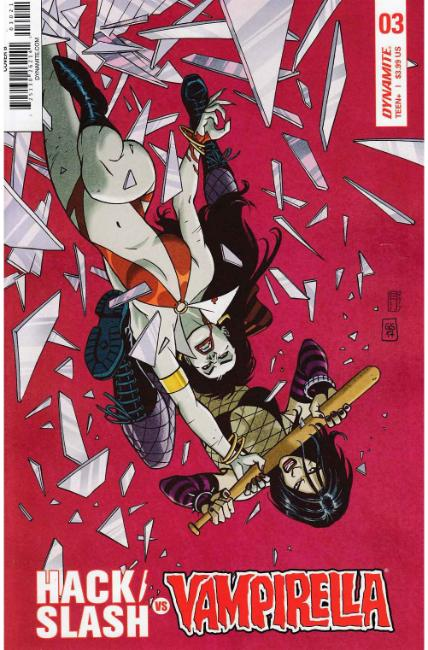 Hack Slash vs Vampirella #3 Cover B [Dynamite Comic] THUMBNAIL
