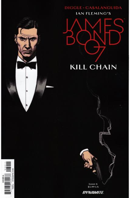 James Bond Kill Chain #6 [Dynamite Comic] THUMBNAIL