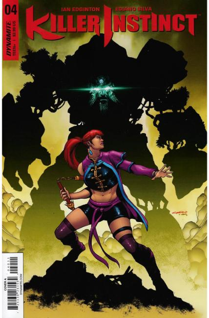 Killer Instinct #4 Cover A [Dynamite Comic] THUMBNAIL