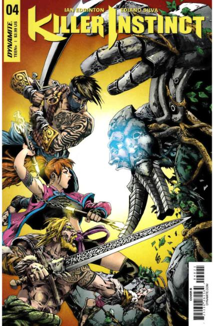 Killer Instinct #4 Cover B [Dynamite Comic] THUMBNAIL