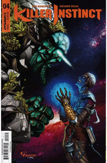 Killer Instinct #4 Cover C [Dynamite Comic] THUMBNAIL