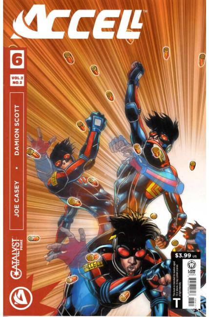 Catalyst Prime Accell Volume 2 #2 [Lion Forge Comic] THUMBNAIL