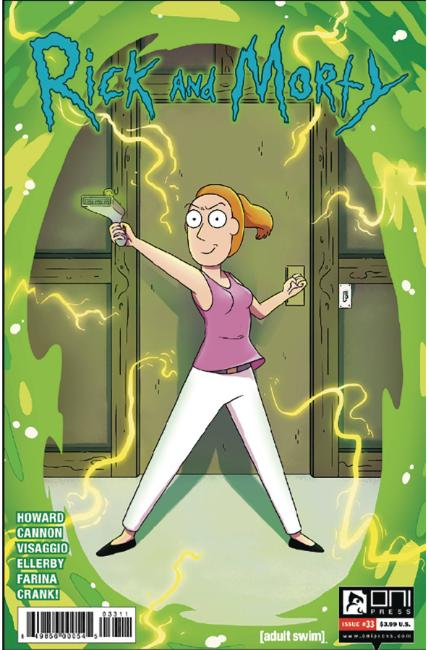 Rick & Morty #33 [Oni Press Comic]