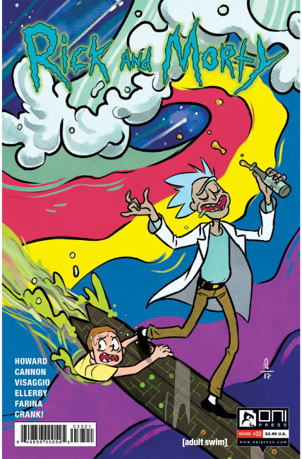 Rick & Morty #33 Espinosa Variant Cover [Oni Press Comic] THUMBNAIL