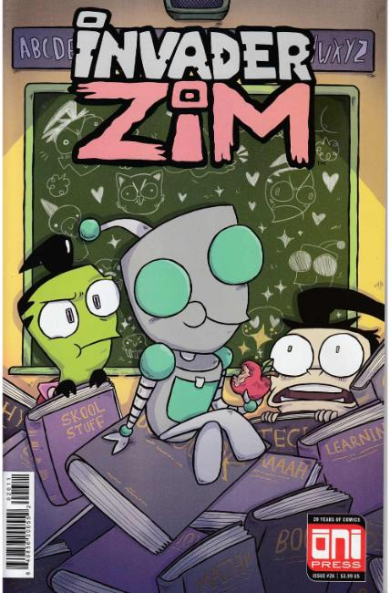 Invader Zim #26 [Oni Press Comic] THUMBNAIL