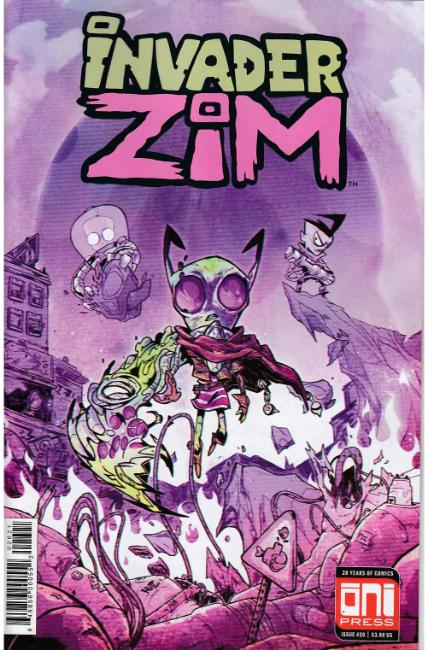 Invader Zim #26 Troussellier Variant Cover [Oni Press Comic] THUMBNAIL
