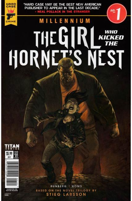 Millennium Girl Who Kicked the Hornets Nest #1 Cover B [Titan Comic]