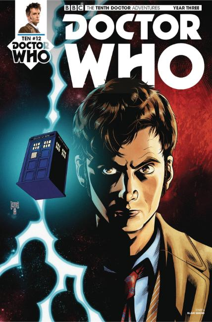 Doctor Who 10th Doctor Year Three #12 Cover A [Titan Comic] LARGE