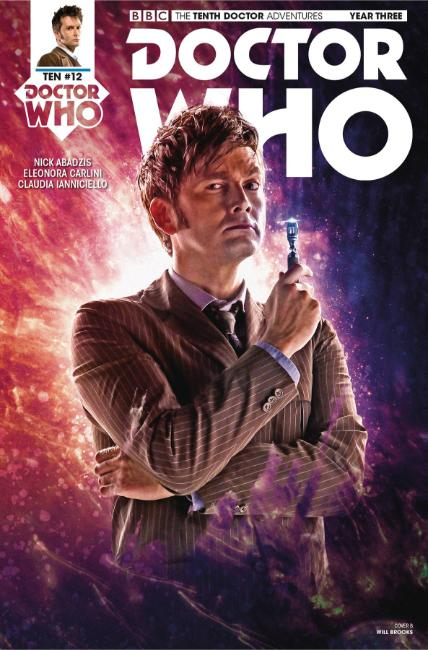 Doctor Who 10th Doctor Year Three #12 Cover B [Titan Comic] THUMBNAIL