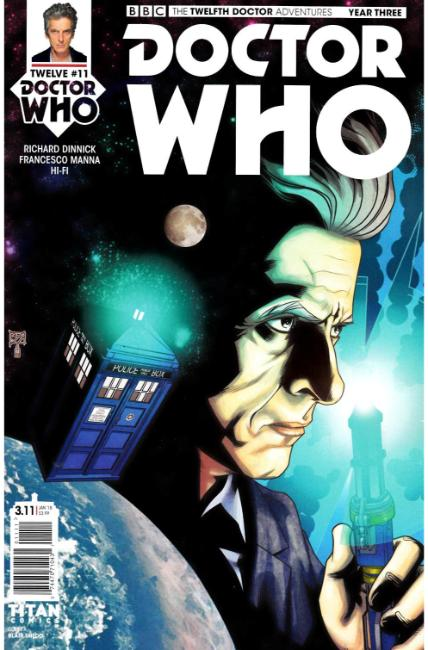 Doctor Who 12th Doctor Year Three #11 Cover A [Titan Comic] THUMBNAIL