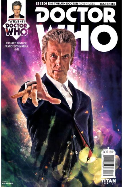 Doctor Who 12th Doctor Year Three #11 Cover B [Titan Comic] THUMBNAIL