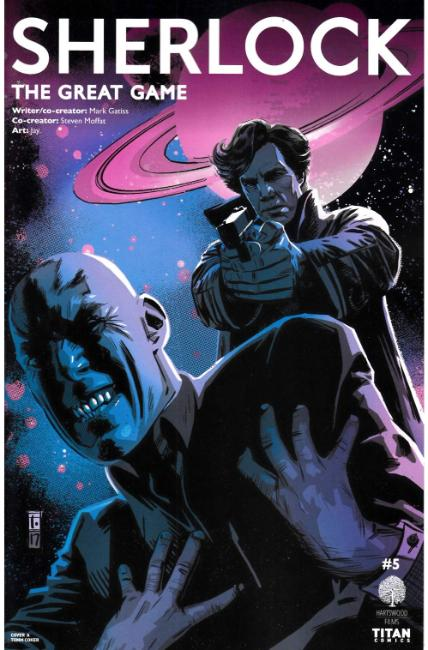 Sherlock The Great Game #5 Cover A [Titan Comic] LARGE