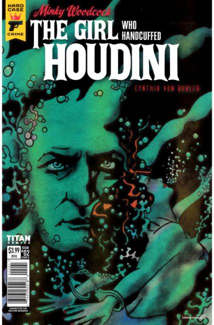Minky Woodcock Girl Who Handcuffed Houdini #2 Cover B [Titan Comic] THUMBNAIL