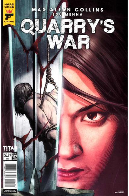 Quarrys War #2 Cover A [Titan Comic] THUMBNAIL