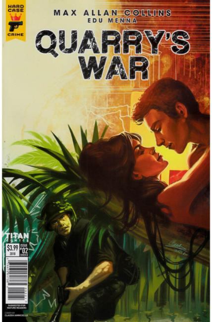 Quarrys War #2 Cover B [Titan Comic] THUMBNAIL