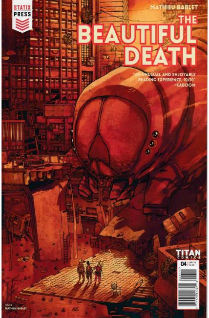 The Beautiful Death #4 [Titan Comic] THUMBNAIL