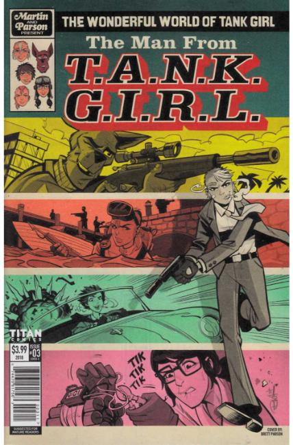 Wonderful World of Tank Girl #3 Cover A [Titan Comic] THUMBNAIL