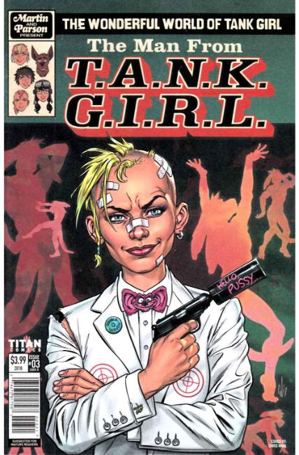 Wonderful World of Tank Girl #3 Cover B [Titan Comic] THUMBNAIL