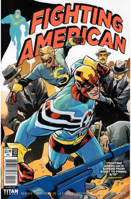Fighting American #3 Cover A [Titan Comic]