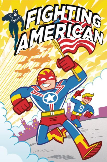 Fighting American #3 Cover B [Titan Comic] THUMBNAIL