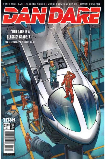 Dan Dare #3 Cover A [Titan Comic] THUMBNAIL